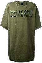 Juun.J front patches oversized T-shirt - men - Cotton - S