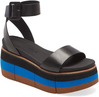 Naked Feet Altezza Platform Wedge Sandal