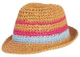 Gymboree Crochet Straw Fedora