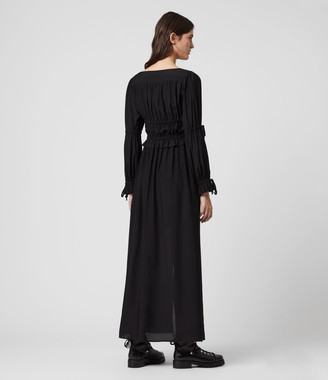 AllSaints Kimi Silk Blend Dress
