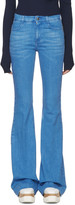 Stella McCartney Blue The 70s Flared Jeans