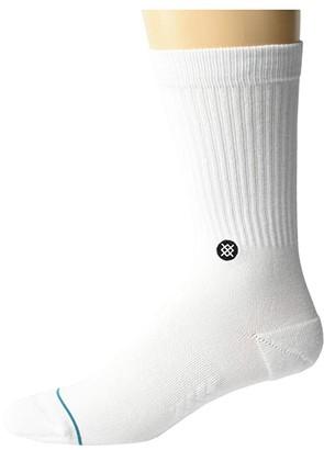 Stance NBA Logoman ST (White) Crew Cut Socks Shoes