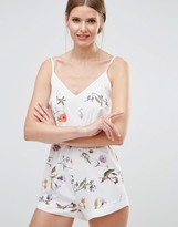 Oh My Love Panel Edge Elasticated Romper