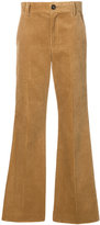 Marc Jacobs flared corduroy trousers