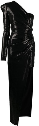 David Koma Sequin Gown