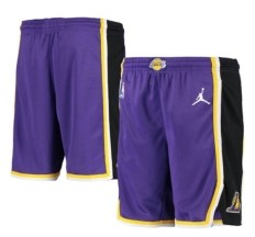 Jordan Youth Los Angeles Lakers Statement Swingman Shorts