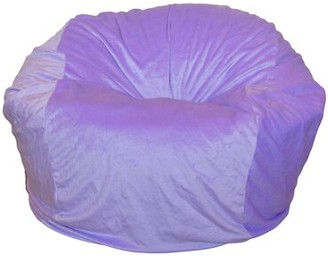 Isa Belle Isabelle & Max - 36 Inch Wide Washable Large Bean Bag Chair - Lavender Purple Cuddle Soft Minky Isabelle & Max Fabric: Lavender Cuddle Soft Minky