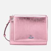 Vivienne Westwood Women's Venice Metallic Cross Body Bag - Pink