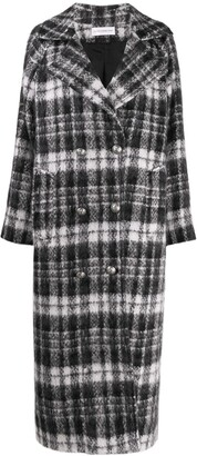 Faith Connexion Checked Double Breasted Coat