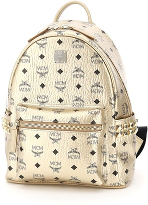 MCM Stud Embellished Backpack