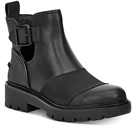 UGG Women's Stockton Leather Ankle Boots