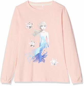 Name It Girl's Nmffrozen Brielle Ls Top Wdi Sweatshirt