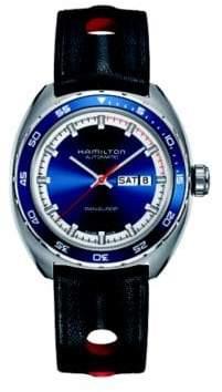 Hamilton Pan-Europ Day-Date Interchangeable Strap Watch
