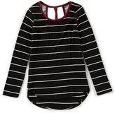 Copper Key Big Girls 7-16 Striped Knit Top