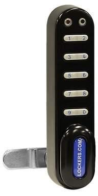 Salsbury Industries Electronic Lock for Designer Wood Locker Door Salsbury Industries Color: Black