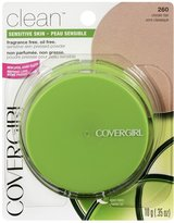Cover Girl Clean Sensitive Skin Pressed Powder Classic Tan Warm 260, 10g