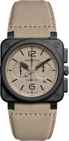 Bell & Ross Aviation BR 03-94 chronographe desert type watch