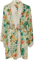 By Ti Mo byTiMo Floral Block Kimono