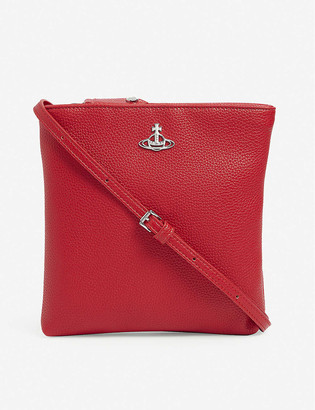 Vivienne Westwood Johanna New Square vegan-leather cross-body bag