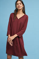 Michael Stars Raw-Hemmed Shirtdress
