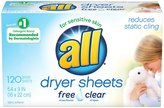 all Dryer Sheets