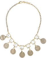 Lulu Frost Crystal Coin Necklace
