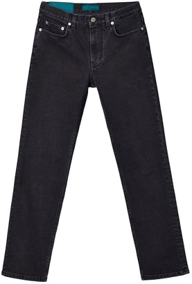 Self Cinema Slim Straight Jean Washed Black