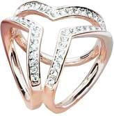 XY Fancy Fashion Scarf Buckle Accessories Three Ring Crystal Shawl Buckle