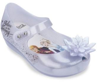 Mini Melissa Disney's Frozen 2 Baby's, Little Girl's & Girl's Ultragirl Snowflake Flats