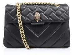 Kurt Geiger London Kensington Quilted Leather Shoulder Bag