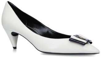 Saint Laurent Leather Pierrot Pumps 55