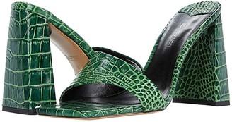 Tony Bianco Beema (Black Croc) Women's Sandals