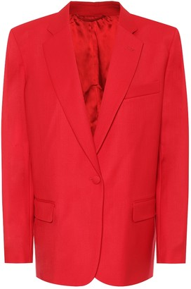 ATTICO Bianca stretch-wool blazer
