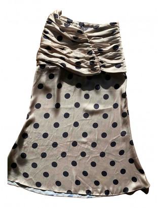 Orseund Iris Beige Synthetic Skirts