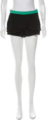 CNC Costume National Draped Mini Shorts