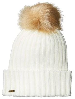 San Diego Hat Company KNH3476 Beanie with Pom Pom (Ivory) Beanies