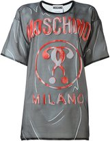 Moschino trompe-l'œil logo T-shirt