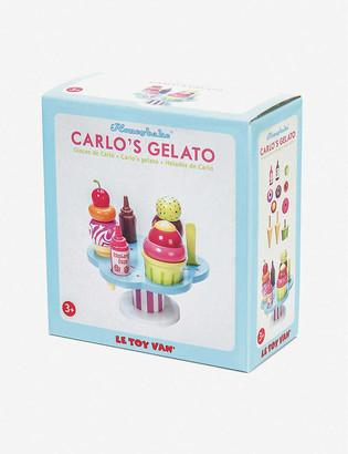 Le Toy Van Carlos Gelato wooden toy set