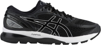 Asics GEL-Nimbus 21 Running Shoes - Black / Dark Grey