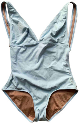 Three Graces London Blue Synthetic Swimwear