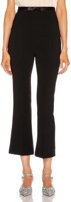 Miu Miu Tailored Pant in Black   FWRD