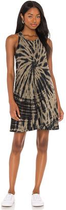 Nation Ltd. Lulu A-line Mini Tie Dye Dress
