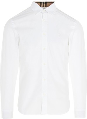 Burberry Monogram Motif Slim Fit Shirt