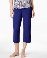 Alfani Satin-Waist Trim Cropped Pajama Pants, Only at Macy's