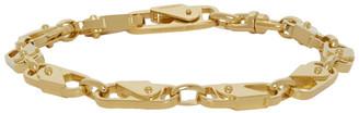 Ambush Gold Sling Snap Bracelet