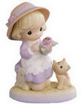 Precious Moments Gently USED Auntie, You Make Beauty Blossom