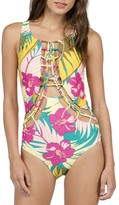 Volcom Women's Hot Tropic One-Piece Swimsuit