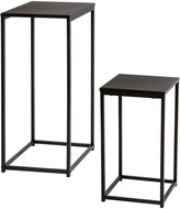 Honey-Can-Do 2Pc Side Tables