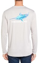Vineyard Vines Men's Marlin Long Sleeve Performance T-Shirt