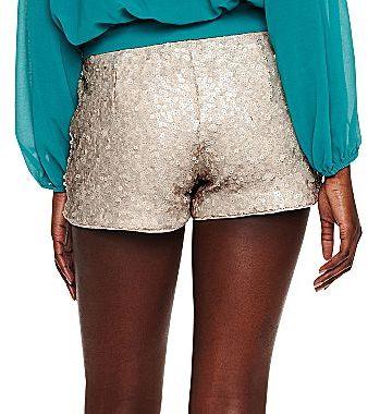 XOXO Sequin Shorts